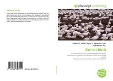 Bookcover of Extinct birds