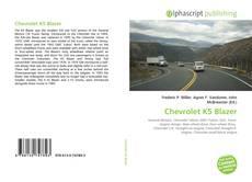 Borítókép a  Chevrolet K5 Blazer - hoz