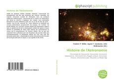 Couverture de Histoire de l'Astronomie