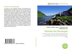 Bookcover of Histoire de l'Auvergne