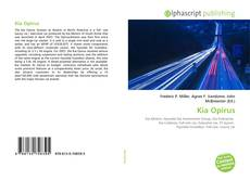 Bookcover of Kia Opirus