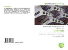 Dax Riggs kitap kapağı