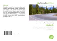 Bookcover of Kia Pride