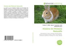 Couverture de Histoire de l'Histoire Naturelle