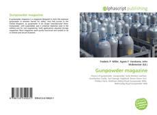 Capa do livro de Gunpowder magazine
