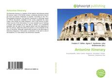 Bookcover of Antonine Itinerary