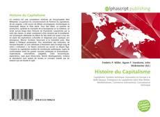Portada del libro de Histoire du Capitalisme