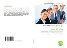 Bookcover of Area Studies