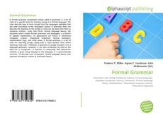 Couverture de Formal Grammar