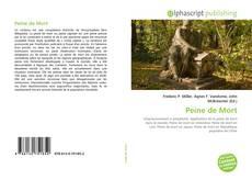 Buchcover von Peine de Mort