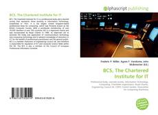 Buchcover von BCS, The Chartered Institute for IT