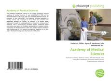 Bookcover of Academy of Medical Sciences