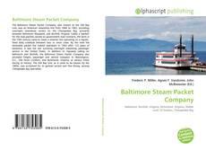 Portada del libro de Baltimore Steam Packet Company