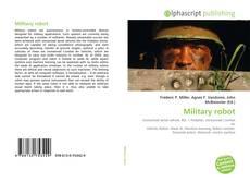 Обложка Military robot