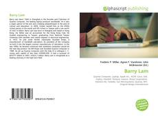 Bookcover of Barry Lam
