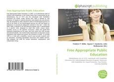 Bookcover of Free Appropriate Public Education