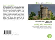 Buchcover von Henry II of Jerusalem