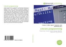 Обложка Literate programming