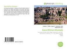 Обложка Kara-Khitan Khanate