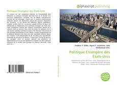 Capa do livro de Politique Etrangère des États-Unis