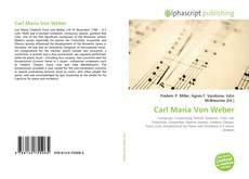Buchcover von Carl Maria Von Weber
