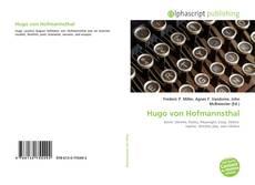 Borítókép a  Hugo von Hofmannsthal - hoz