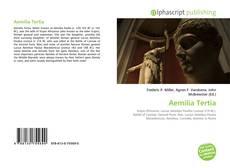 Portada del libro de Aemilia Tertia