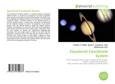 Bookcover of Equatorial Coordinate System