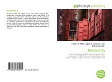 Bookcover of Insolvency