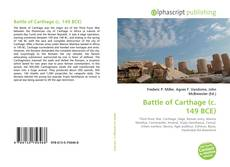 Bookcover of Battle of Carthage (c. 149 BCE)