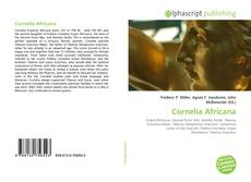 Bookcover of Cornelia Africana