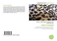 Bookcover of Amur Leopard