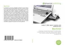 Bookcover of Bus Error