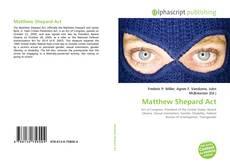 Bookcover of Matthew Shepard Act