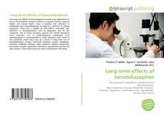 Capa do livro de Long-term effects of benzodiazepines