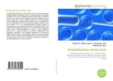 Bookcover of Evolutionary arms race
