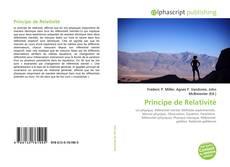 Borítókép a  Principe de Relativité - hoz