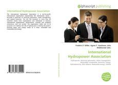 Bookcover of International Hydropower Association