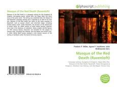 Capa do livro de Masque of the Red Death (Ravenloft)