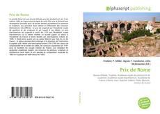 Couverture de Prix de Rome