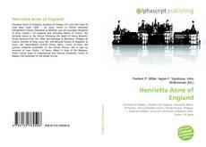 Bookcover of Henrietta Anne of England