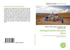 Copertina di Mongols before Genghis Khan