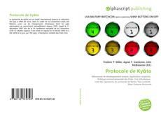 Protocole de Kyōto kitap kapağı