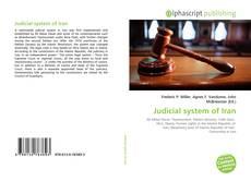 Buchcover von Judicial system of Iran