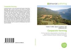 Capa do livro de Corporate farming