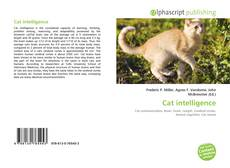Обложка Cat intelligence