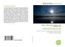 Bookcover of Relativité Générale