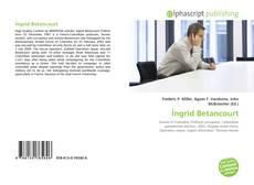 Capa do livro de Íngrid Betancourt