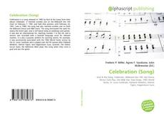 Borítókép a  Celebration (Song) - hoz