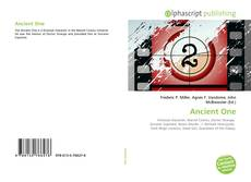 Bookcover of Ancient One